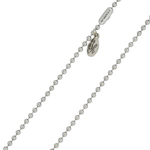 """Picture of 2mm Steel Ball Chain - 22"""""""